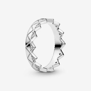 🔥PANDORA Geometric Crown Ring